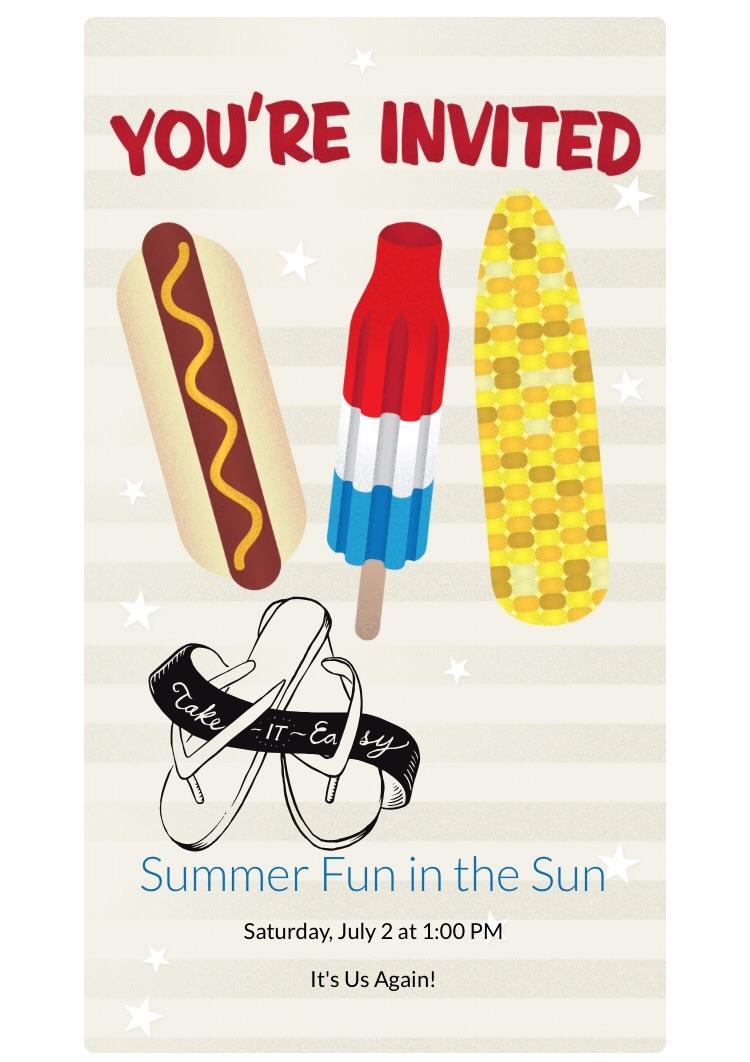 Super Fun in the Sun! Here's Your Invite to Explore Summer with Evite ZV17