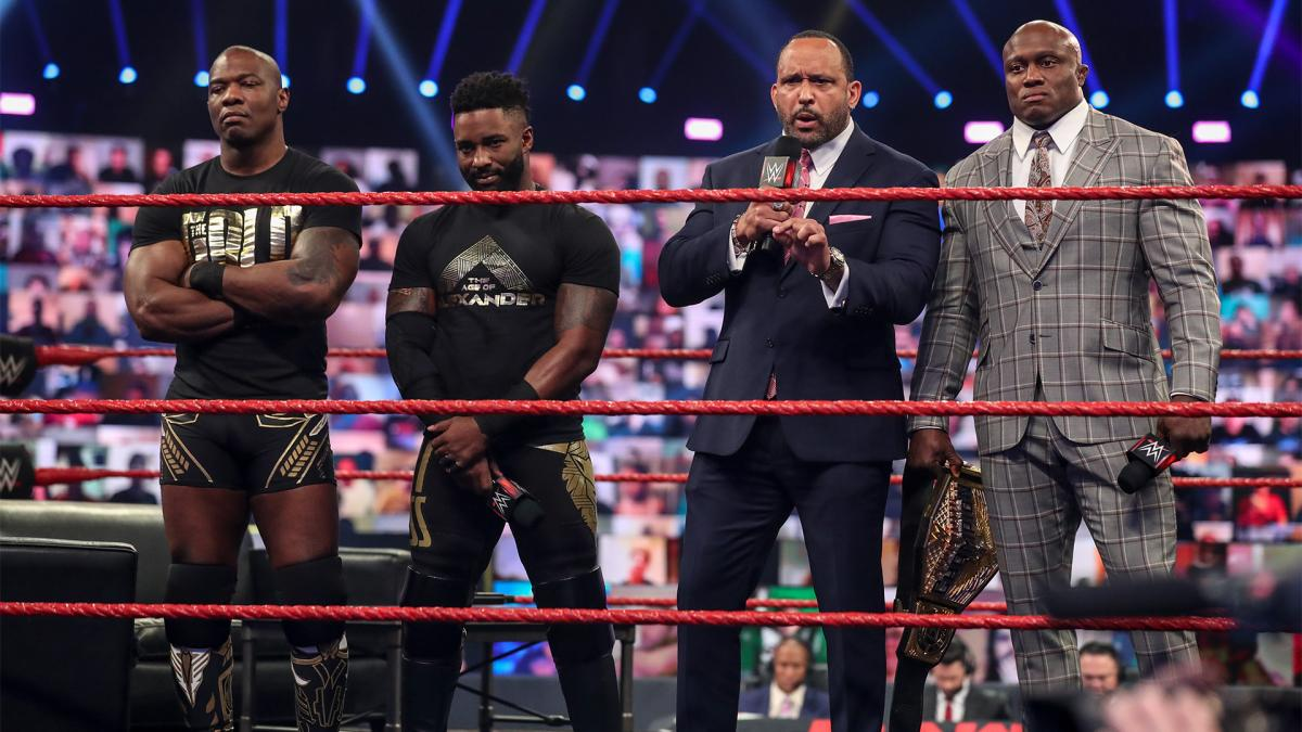Cedric Alexander e Shelton Benjamin deverão disputar o RAW Tag Team Championship