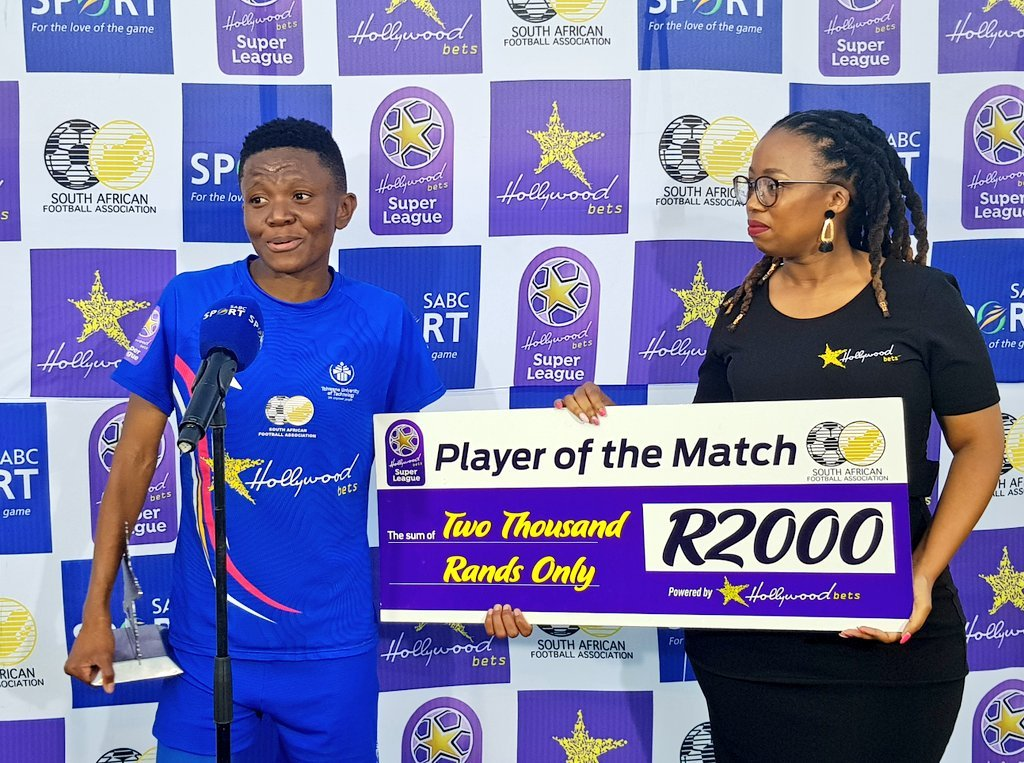 Salome Kekana claimed the Player of the Match award in the victory over UJ Ladies