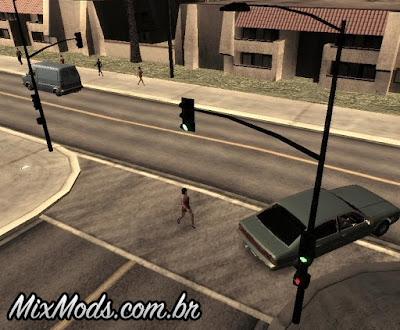 novos semáforos gta san