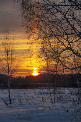 Nature Snowflow Sunrise wallpapers