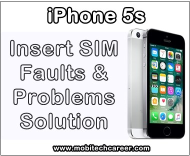 mobile, cell phone, iPhone smartphone, how to, fix, solve, repair, Apple iPhone 5S, sim, not working, insert sim, faults, problems, sim ic, sim track, jumper ways, solution, kaise kare, guide, tips in hindi.