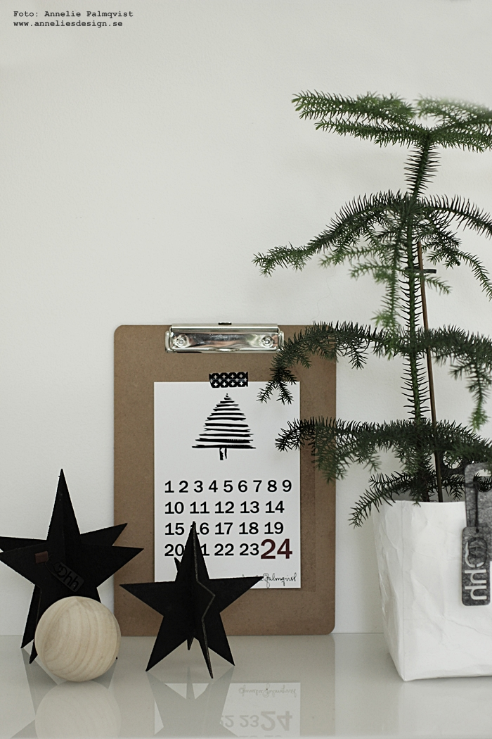 räkna ner poster, december, kalender, almanacka, blad, annelies design, webbutik, nätbutik, nätbutiker, stjärna, Oohh stjärnor, jul, julpynt, julen 206, julsaker, julstjärna, julstjärnor, Oohh, 3d, poster, psoters, print, prints, tavla, tavlor, Oohh kruka, krukor,