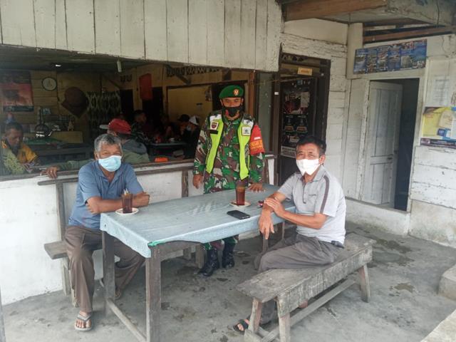 Gakplin Diwilayah Binaan Dilaksanakan Personel Jajaran Kodim 0207/Simalungun Kepada Warga