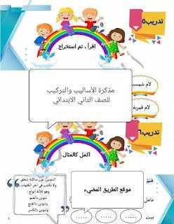 الاساليب والتركيب للصف الثاني الابتدائي الترم الثاني المنهج الجديد 2020 للأستاذ عمرو المغربى