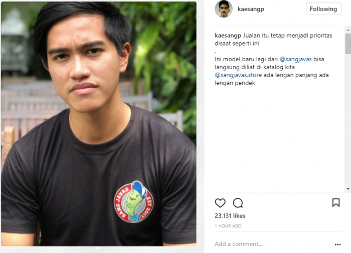 Gibran dan Kahiyang Sudah Nikah, Kapan Kaesang Menyusul Anak Bungsu Jokowi Malah Prioritaskan Ini