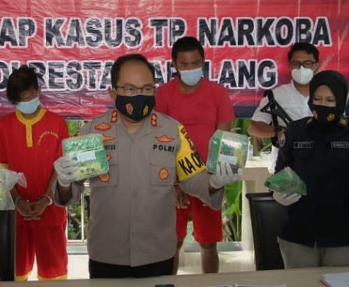 Nelayan Malaysia Bawa Sabu Masuk Batam