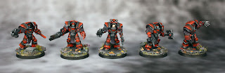 Cataphractii Terminators - Horus Heresy (30K) Blood Angels