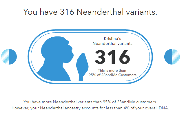 Neanderthal DNA - My 23&Me Ancestry Results