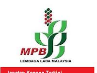 Jawatan Kosong Terkini Lembaga Lada Malaysia 4 Januari 2017