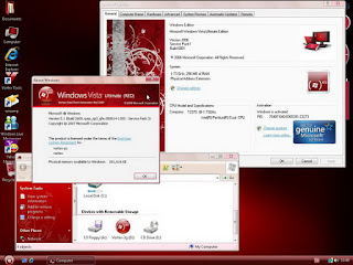 Windows XP Vortex 3G Red Edition