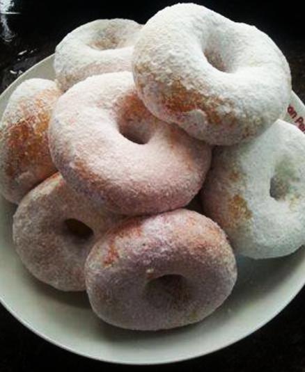 resepi donut gebu mudah buat