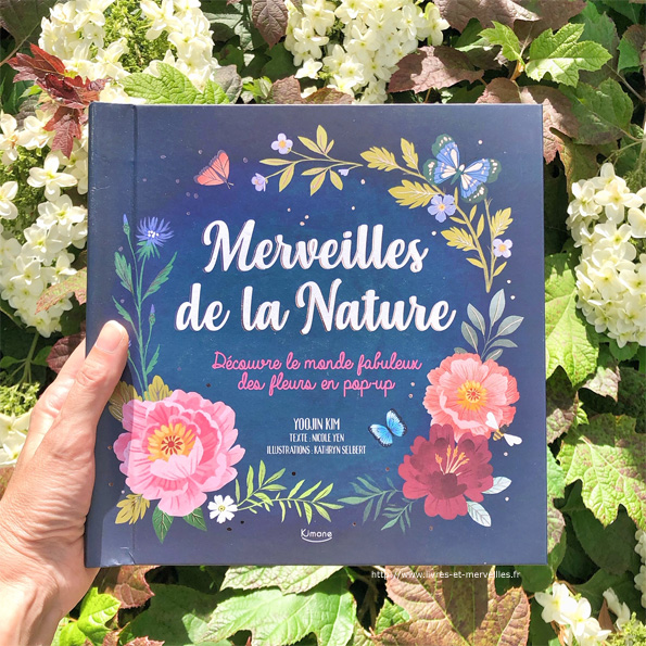 Merveilles de la Nature - pop-up des éditions Kimane