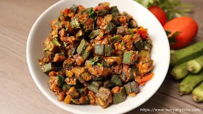Bhindi Masala Dry Recipe