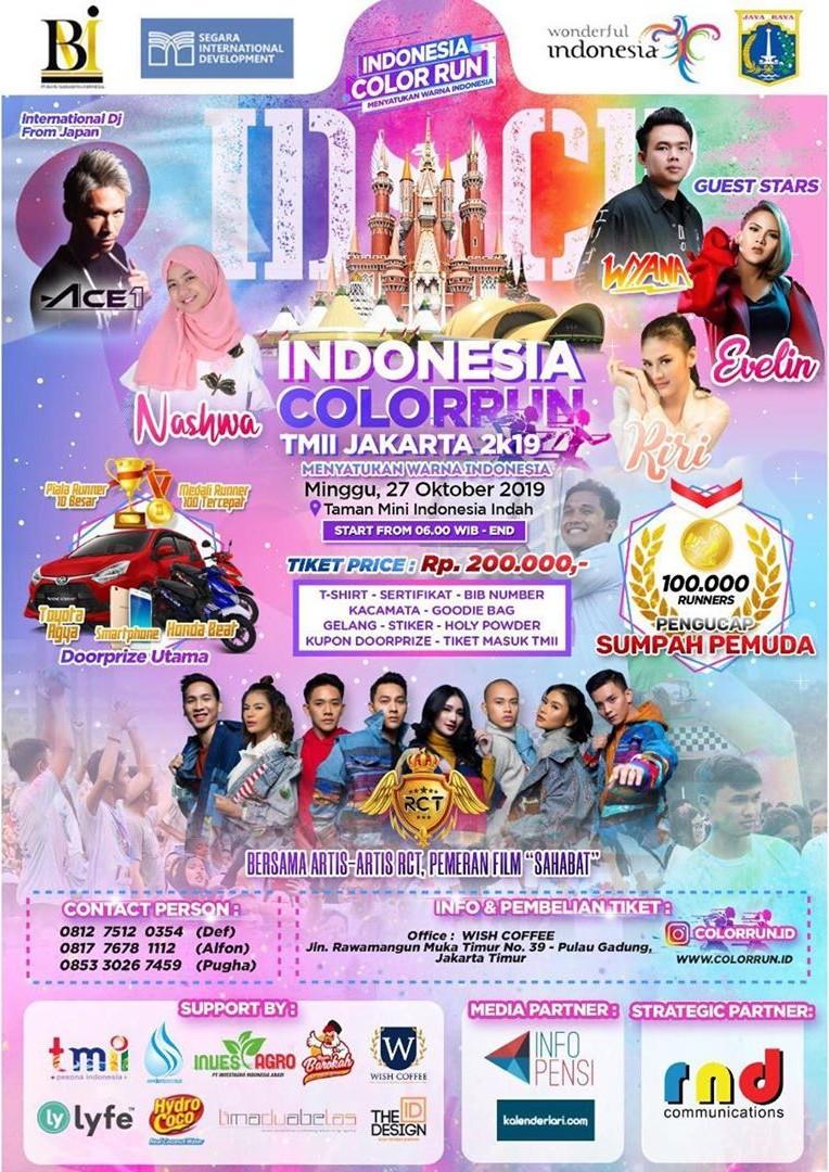 Indonesia Color Run - Jakarta • 2019