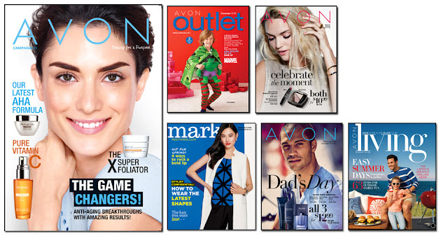 Avon Campaign 11 2016, Avon Outlets, Avon mark. magalog, Avon Living, Avon flyer. The Online date on this Avon Catalogs 4/30/16 - 5/13/16