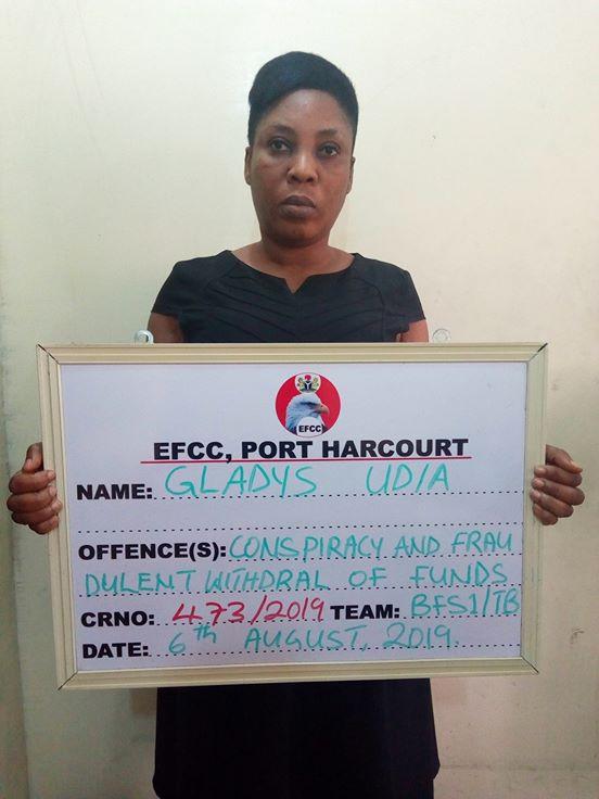EFCC Arraigns Female Banker For Stealing Customer's Money