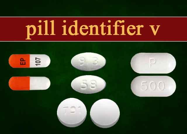 55 Pill Identifier V Unknowingly
