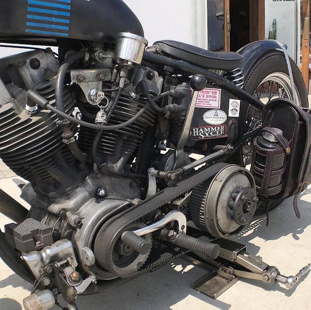 Harley Davidson Shovelhead By Hammer Sycle Hell Kustom