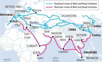 Jalur OBOR China
