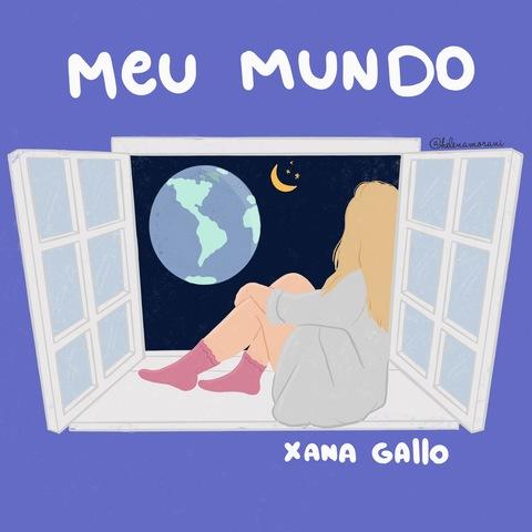 """A cantora e compositora gaúcha Xana Gallo lança o single """"Meu Mundo"""""""
