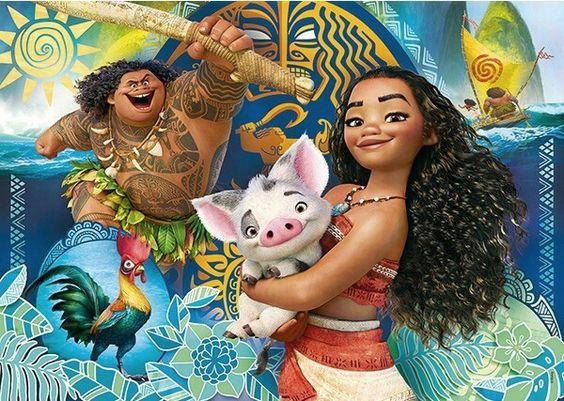 Baú Da Web: 15 Imagens De Moana Da Disney