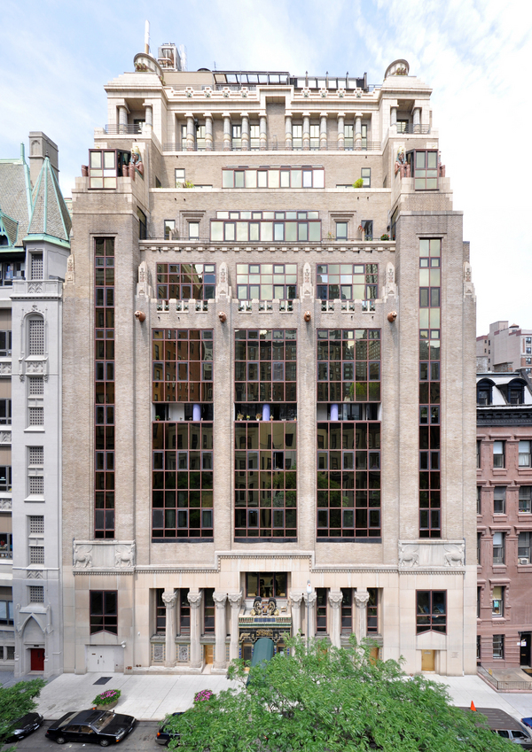 Lady Gaga S Apartment Building The Pythian Is Located At 135 West 70 Street Where She Grew Up