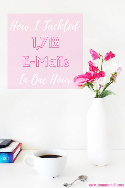 How I Tackled 1,712 E-Mails In One Hour