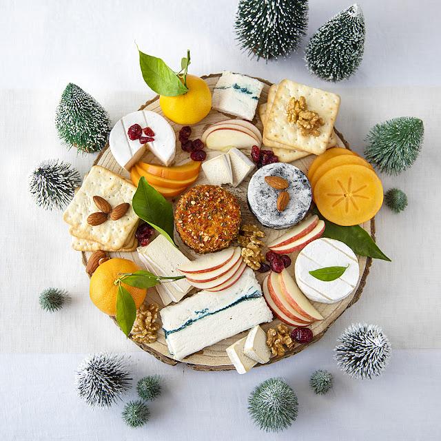 Le plateau de fromage de Noël