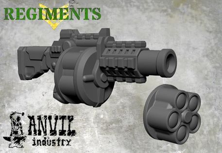 32mm Grenade Launchers from Anvil Industries