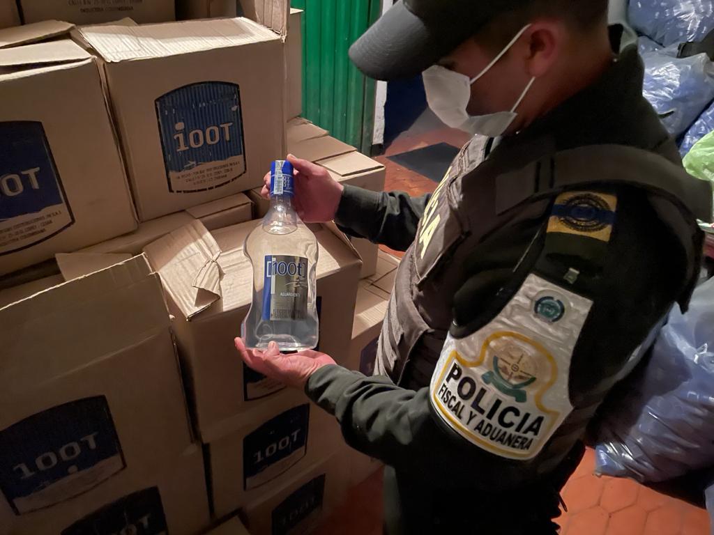 hoyennoticia.com, En el Copey se incautan $78 millones en licor ilegal