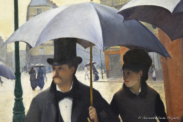 Caillebotte en el Art Institute de Chicago, por El Guisante Verde Project