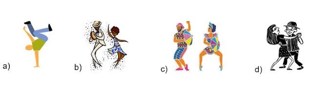 atividade de arte sobre dança