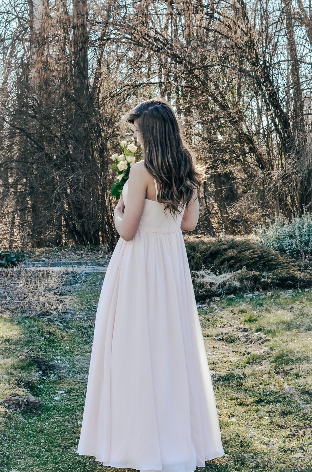 like a princess| PINK ROSE DRESS @JJSHOUSE