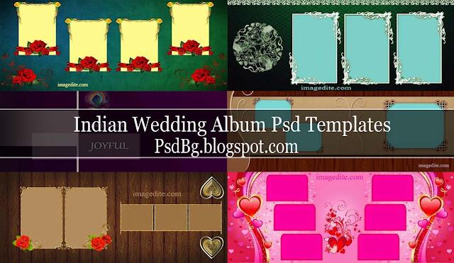 Indian Wedding Album Psd Templates