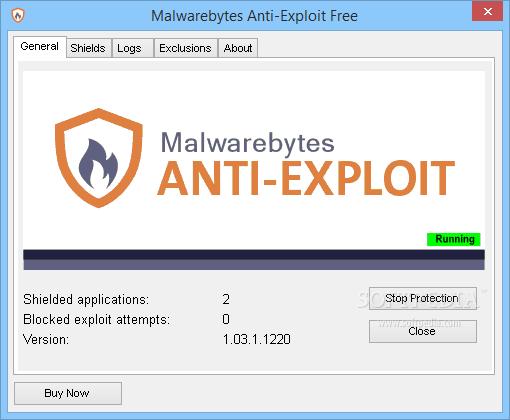 Malwarebytes Anti-Exploit Premium Key 1.13.1 - Phần mềm diệt virut