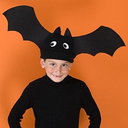 Halloween craft: Bat Hat