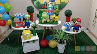 Decoração Super Mario Bros Porto Alegre