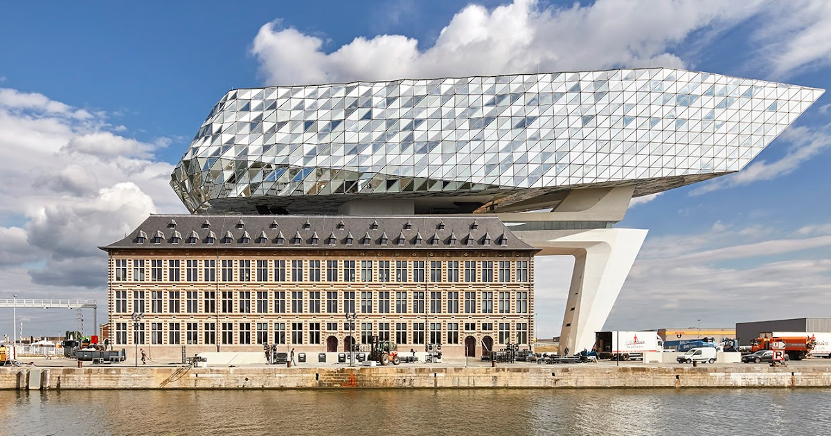 Genevieve blons arts zaha hadid la maison portuaire a anvers for P o style architecture