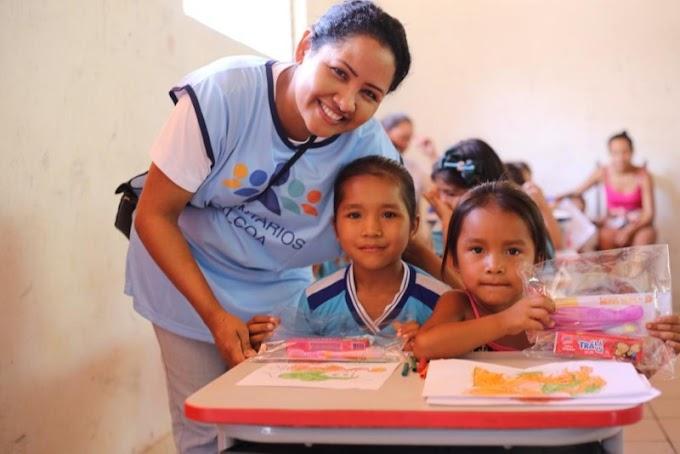 Instituto Alcoa mobiliza territórios para a importância da educação e para os testes do Sistema de Avaliação da Educação Básica