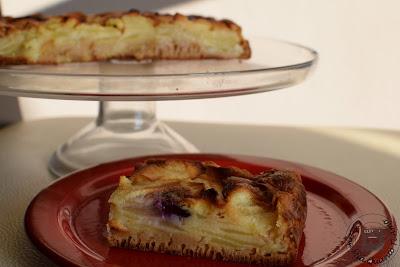 torta-di-mele-con -poca-farina