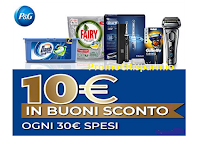 Logo Spendi e Riprendi Amazon con P&G: 10€ ogni 30€ spesi