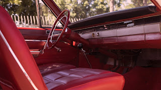 1966 Dodge D-Dart GT Sports Coupe Dashboard