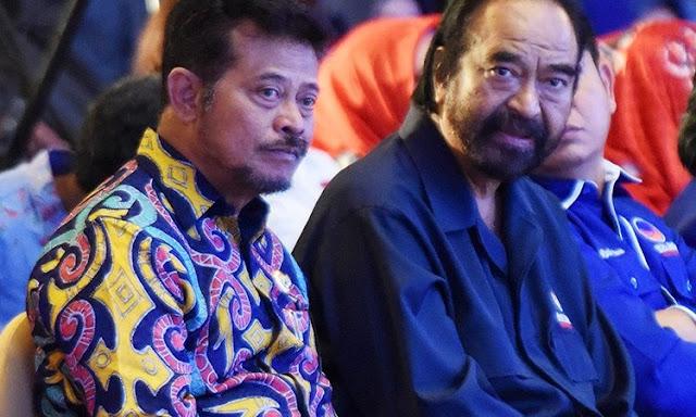 Mentan Yasin Limpo Terancam Dicopot Gegara Nasdem Kepengen Pilkada Tetap 2022?