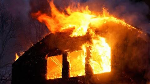 Leégett egy hétvégi ház Bocskaikertben