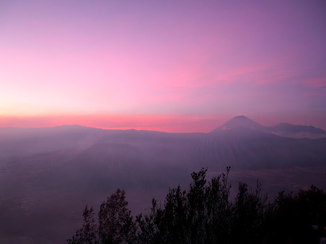 Sunrise at Mt Bromo, East Java, Indonesia