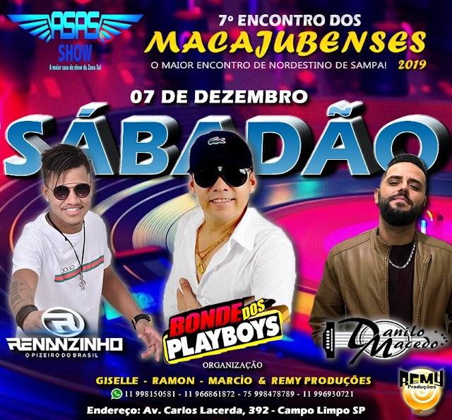 7º Encontro dos macajubenses acontece neste sábado (07) em São Paulo