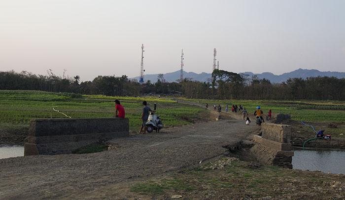 Dulunya Jembatan Penghubung Jalan Utama Wonogiri-Pracimantoro