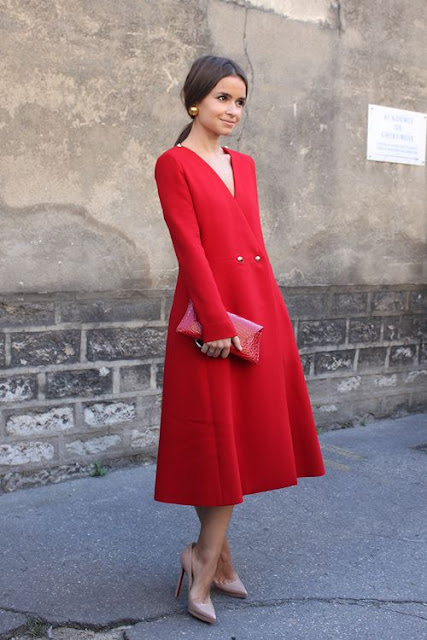 Miroslava Duma : 26 Images of Inspiration: Imperial Red 07-01-2016 {Cool Chic Style Fashion}