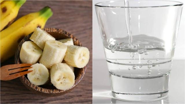 Kesan Kepada Tubuh Badan Akibat Selalu Makan Pisang Dan Pengambilan Air Suam Setiap Pagi